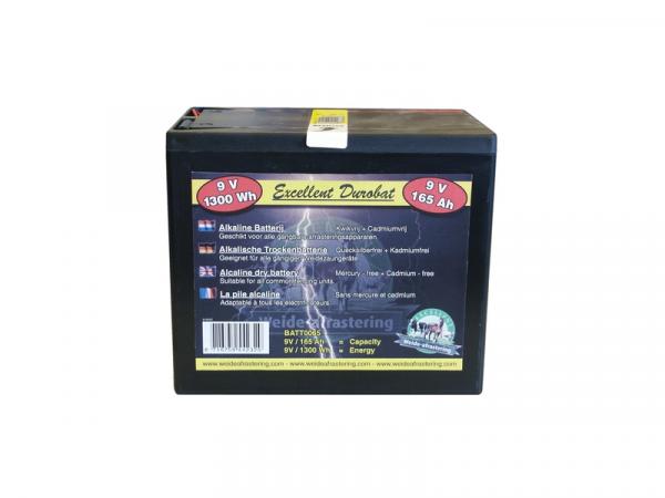 Batterij Durobat Afrastering 9 V 165Ah