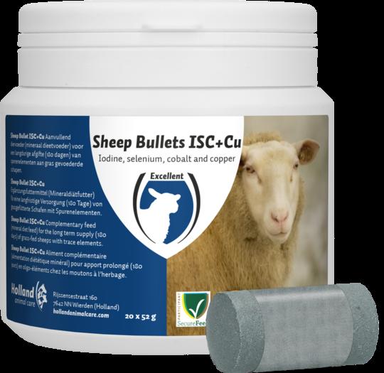 Sheep Bullet ISC + Cu Koper Schaap 20 stuks