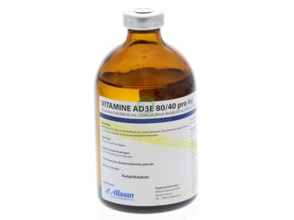 Vitamine AD3E 80/40 100 ml