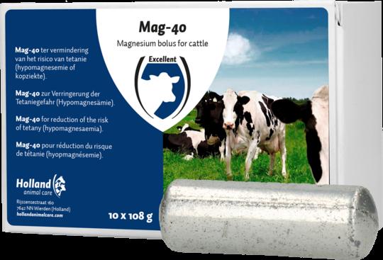 Mag-40 Magnesium Bolus Rund 10 stuks
