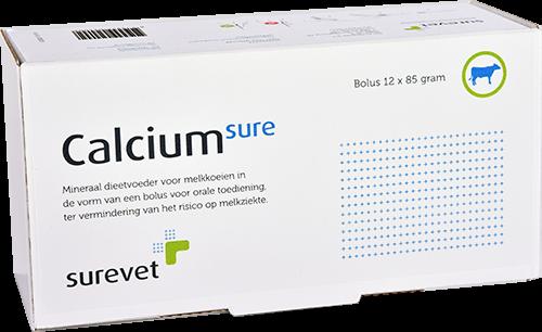 CalciumSure Surevet Bolus 12 stuks