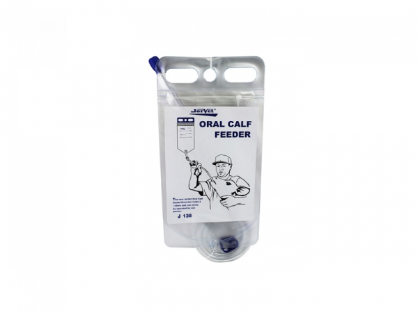 Calf Feeder Oral Sondezak met rits Compleet 1 stuk