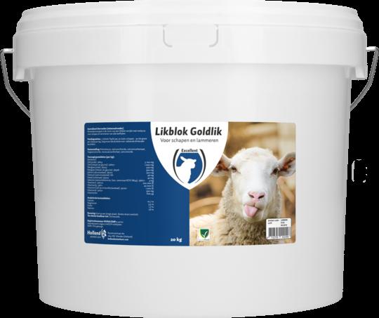 Likblok Goldlik Schaap Lam 20 kg