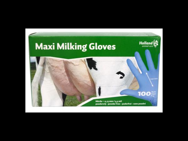 Maxi Melkershandschoenen maat L (240 mm) 100 stuks