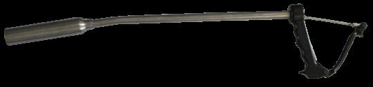 Inserter RVS 27mm LWB Bolusschieter Rund