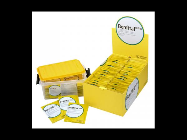 Benfital Plus 24 zakjes van 100 gram in Opbergbox