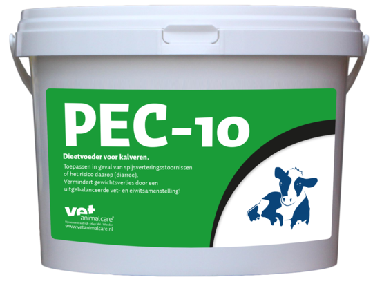 PEC-10 Dieetvoer Kalf 2.5 kg