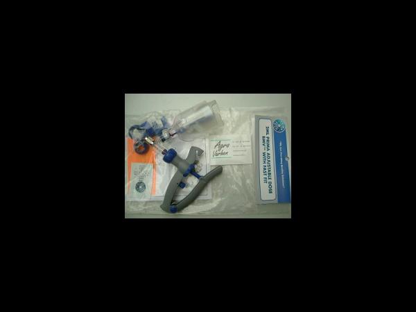 Injectiespuit zelfvullend 2 ml luerlock voor 200 ml flacon